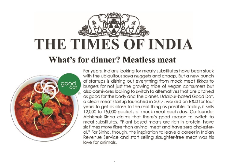 vegan food times of india