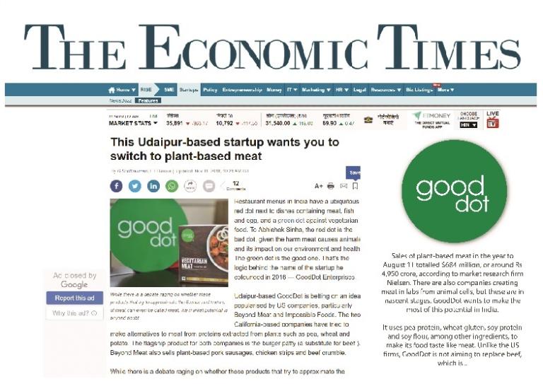 the economic times gooddot