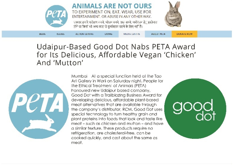 vegan food peta